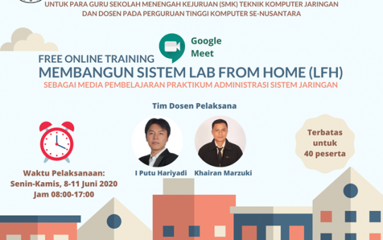 Free Online Training Membangun Sistem Lab From Home